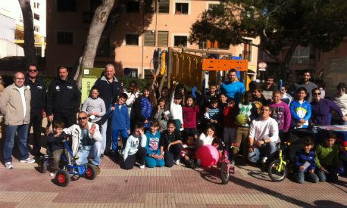 Un centenar de niños participa en Barridiades