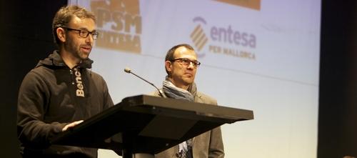 El PSM y Entesa se convierten en el Partit Socialista de Mallorca-Entesa