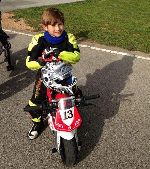 Marco Tapia, el niño prodigio de las motos