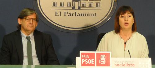El PSIB presentará enmienda a la totalidad a los 3 nuevos impuestos