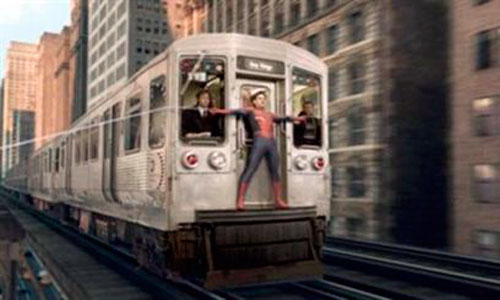 Estudian si la tela de araña podría detener un tren en movimiento