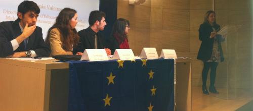 Can Sales acoge el Parlamento Europeo de la Juventud
