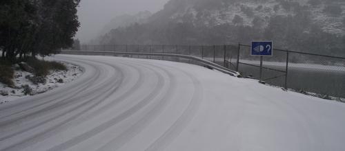 Se reabren al tráfico los tramos cerrados en la Serra de Tramuntana