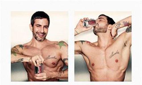 Marc Jacobs, nuevo director creativo de Coca-Cola Light