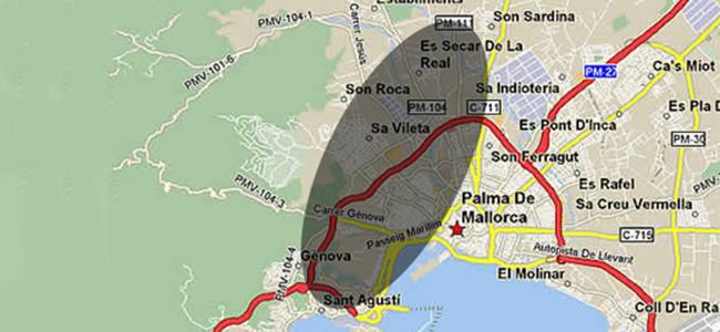 Una avería deja sin agua a una gran parte de Palma