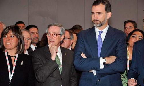 El Príncipe Felipe, de nuevo en Barcelona sin ver a la Infanta