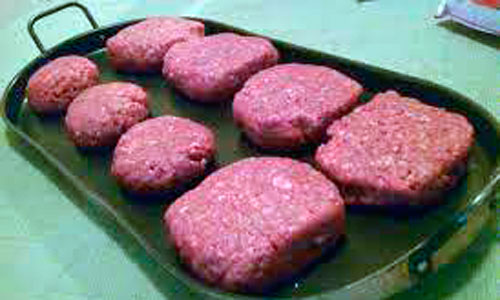 Inmovilizadas 7.000 hamburguesas con carne de caballo
