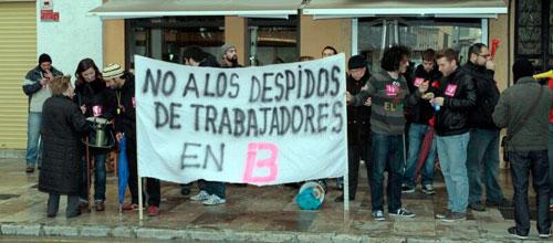 Los huelguistas sabotean la emisión de IB3 con publicidad de una productora