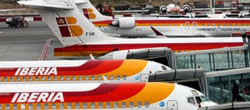 Iberia recoloca al 85% de sus pasajeros durante la huelga de cinco días