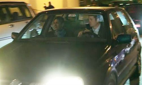 La Infanta Cristina acude a recoger a Iñaki Urdangarin al aeropuerto