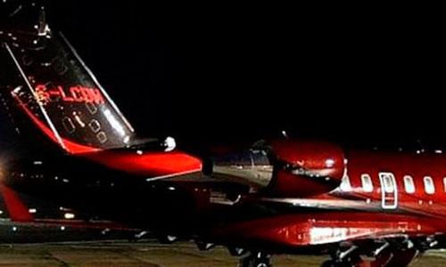 Hamilton se gasta el sueldo de un año en un jet privado