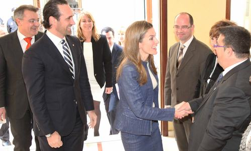 La Princesa Letizia inaugura el Año de las Enfermedades Raras