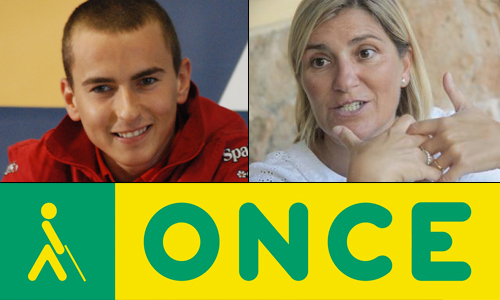 Medalla de Oro para Jorge Lorenzo, Marilén Pol y la ONCE