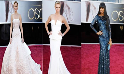 Las mejor vestidas de la gala los Oscar
