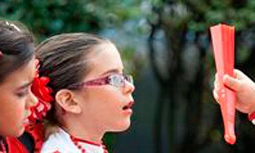 La miopía infantil empeora en invierno