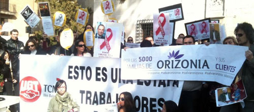 Los sindicatos negociarán con Trabajo la agilización del ERE de Orizonia