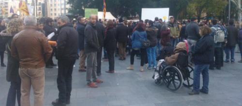 El PAH realiza una concentración multitudinaria en Palma