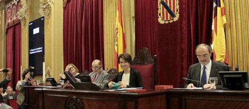 El Parlament apoya la dación en pago con carácter retroactivo