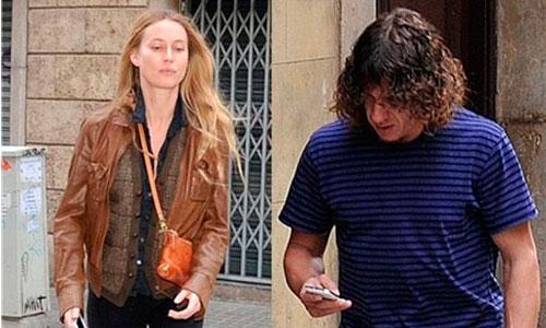 Carles Puyol y Vanessa Lorenzo se dejan ver juntos
