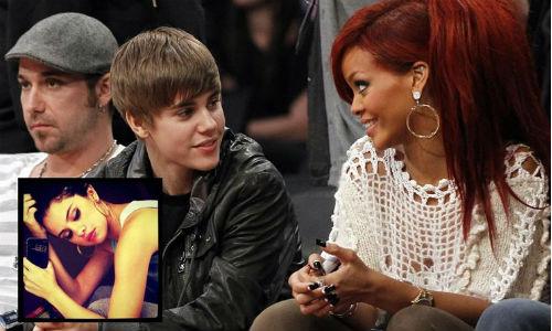 Rihanna provoca la ruptura entre Justin Bieber y Selena