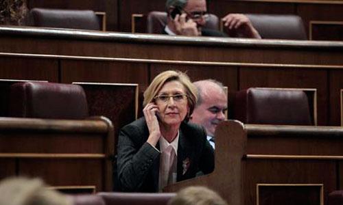 Condenado a pagar 200 euros por amenazar a Rosa Díez en Facebook