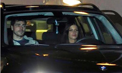Sara Carbonero, multada por exceso de velocidad