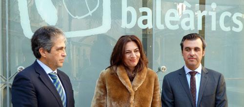 Bosch paga el viaje de Cati Solivellas a los premios Goya en Madrid
