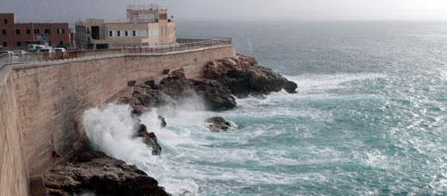 El Govern recomienda mucha precaución durante el temporal de hoy