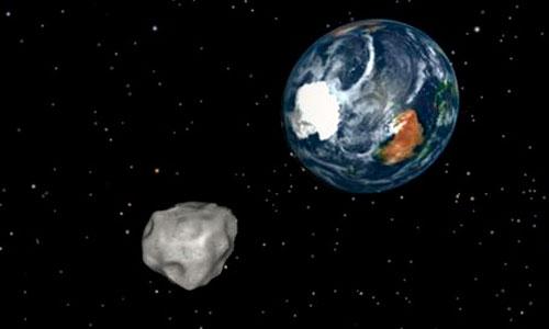 El asteroide que