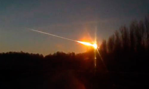 El meteorito de los Urales medía 17 metros de ancho