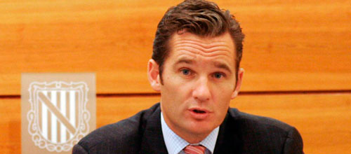 El PSIB pide que se retire a Urdangarin la Medalla de Oro de Baleares