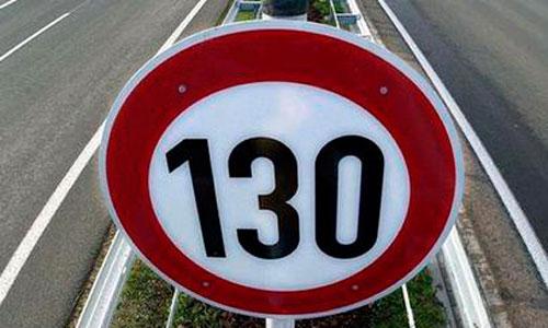 Tráfico sube el límite a 130