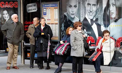 Uno de cada cuatro europeos tendrá más de 65 años en 2050