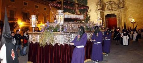 El centro de Palma,cerrado por la 'Processó de l'Enterrament'