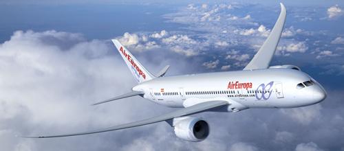 Air Europa es la sexta compañía más puntual del mundo