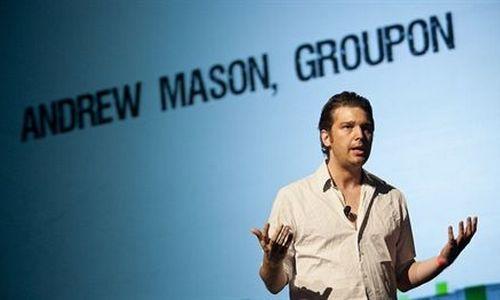 Groupon despide a su CEO y cofundador Andrew Mason