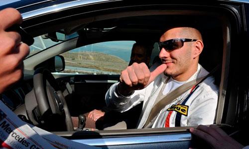 Preocupación en la DGT por el mal ejemplo de los famosos al volante