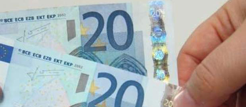 Desmantelada una fábrica de billetes falsos de 20 euros