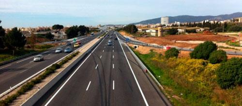 Abierto el enlace de la autopista de Inca con el camí de Sa Cabana