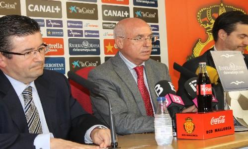 La Caixa renueva su patrocinio del RCD Mallorca