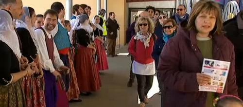 Palma recibe con honores a Costa Cruceros por su 65 aniversario