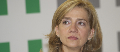 Castro imputará a la Infanta Cristina