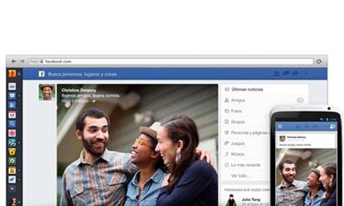 Facebook anuncia nuevo diseño para su sección de noticias