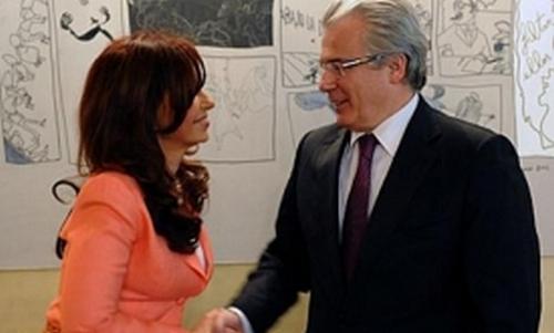 Garzón y Kirchner mantienen una relación sentimental