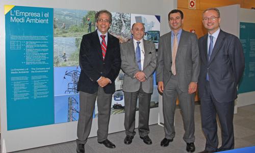 Biel Company y Rafel Bosch visitan la sede de Endesa