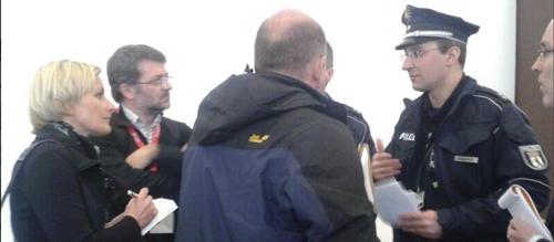 Berlin y Ministerio fueron quienes pidieron protección policial en la ITB