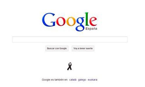 Google recuerda a las víctimas del 11-M