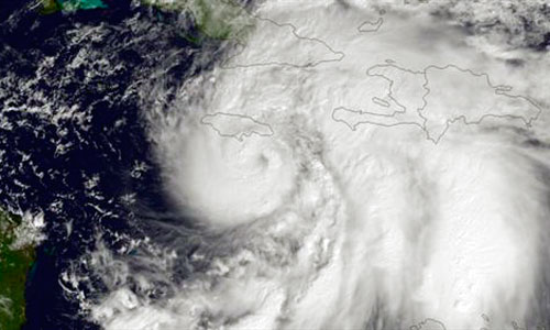Habrá diez veces más huracanes si la temperatura sube 2ºC