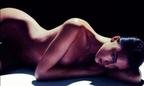 Irina Shayk se desnuda para James Houston