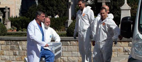 Los forenses ya tienen los restos de Juan March para determinar el ADN